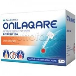 Onilaqare Smalto Medicato Unghie per Micosi 2,5 ml 5%