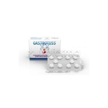 Gastrotuss Antireflusso per Acidità di Stomaco 30 Compresse