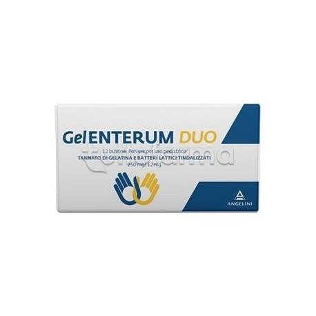 GelEnterum Duo per Diarrea dei Bambini 12 Bustine