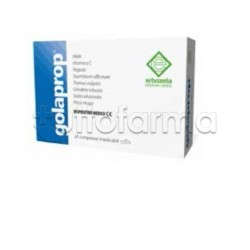 Golaprop per il Mal di Gola 24 Compresse Masticabili