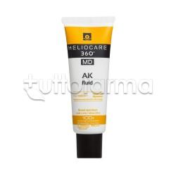 Heliocare 360° MD Ak Fluid Crema Solare per Prevenire la Cheratosi 50ml