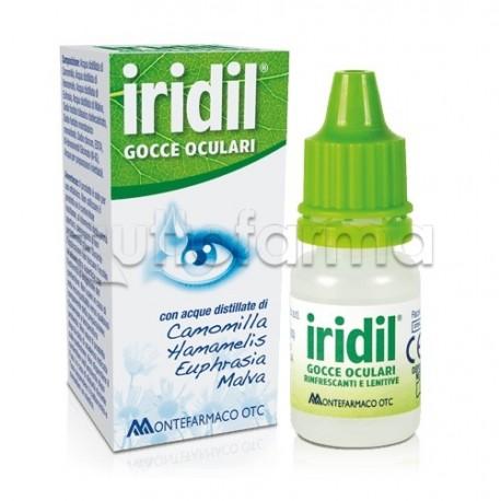 Iridil Collirio per Occhi Arrossati 10ml