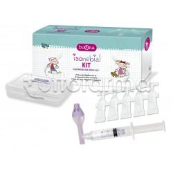 Isonebial Kit per Decongestionare il Naso Chiuso di Bambini e Adulti con 20 Flaconcini e 1 nebulizzatore