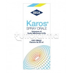 Karos Spray Orale 0,3% per Gola Infiammata 20ml