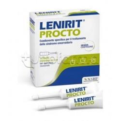 Lenirit Procto Crema per le Emorroidi 10 Tubetti da 5ml