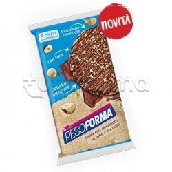 Pesoforma Gallette Cioccolato al Latte e Nocciole Snack Ipocalorico 8 Pezzi