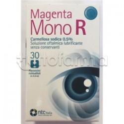 Magenta Mono R Collirio per Occhi Secchi 30 Flaconi Monodose