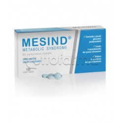 Mesind Metabolic Syndrome per Benessere Intestinale 90 Compresse