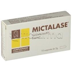 Mictalase per Infiammazioni della Prostata 10 Supposte da 2gr