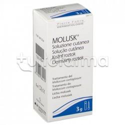 Molusk 10% Soluzione per il Trattamento del Mollusco Contagioso 3gr