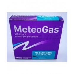 Meteogas Polvere per Meteorismo e Gonfiore Addominale 20 Stick Monodose