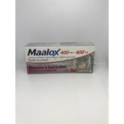 Maalox Senza Zucchero per Iperacidità e Bruciore di Stomaco 30 Compresse Masticabili