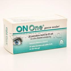 OnOne Gocce Oculari per Occhi Arrossati e Affaticati 30 Flaconcini Monodose