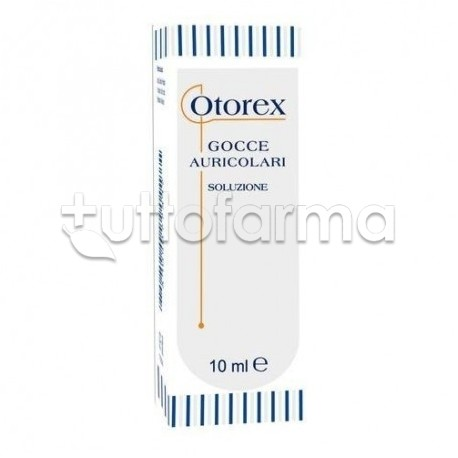 Otorex Gocce Auricolari per l'Igiene delle Orecchie 10ml