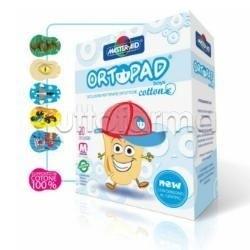 Master-Aid Ortopad Boys Cotton M Cerotto Occlusore per Strabismo per Bambini 20 Pezzi