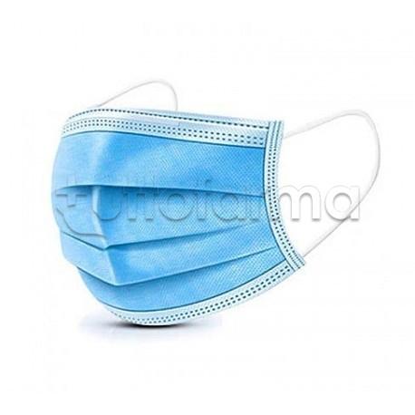 Mascherina Chirurgica Monouso a Triplo Strato - Confezione 50 Pezzi