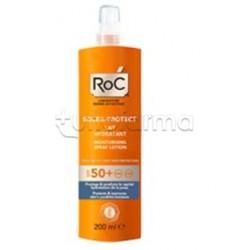 RoC Solare Spray Protezione 50+ Idratante per Viso e Corpo 200ml