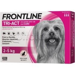Frontline Tri-Act Antiparassitario per Cani 2-5Kg