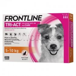 Frontline Tri-Act Antiparassitario per Cani 5-10Kg