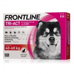 Frontline Tri-Act Antiparassitario per Cani 40-60Kg