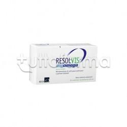 Resolvis Omega Gocce Oculari per Scarsa Lacrimazione 20 Contenitori Monodose