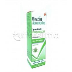 Rinazina Aquamarina Isotonica Aloe Delicata per Igiene del Naso 100ml