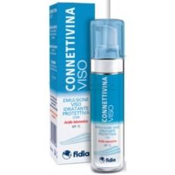 Connettivina Viso Emulsione Idrante e Protettiva per Pelle Irritata 50ml