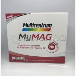Multicentrum My Mag Integratore di Magnesio 30 bustine