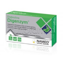 Named Disbioline Digenzym  Integratore per Benessere Intestinale 30 Compresse