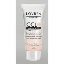 Lovren CC Cream CC1 Color Corrector Tonalità Media 25ml