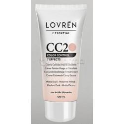 Lovren CC Cream CC2 Color Corrector Tonalità Medio-Scura 25ml