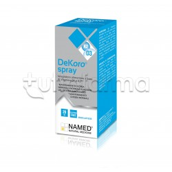 Named DeKoro Spray con Vitamina K2 e D per Sistema Immunitario 20ml
