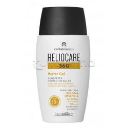Heliocare 360° Water Gel Protezione Solare per Sportivi e per la Corsa 50ml