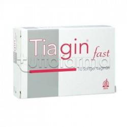 Tiagin Fast per Infezione Vaginale 10 Capsule Softgel