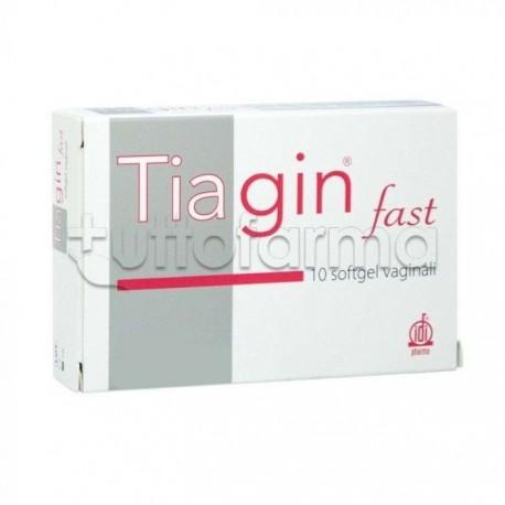 Tiagin Fast per Infezione Vaginale 10 Capsule Softgel