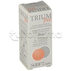 Trium Free Collirio per Occhi Secchi e Irritati 10ml