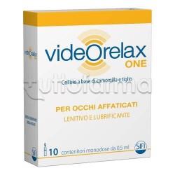 Videorelax One Collirio per Occhi Affaticati 10 Flaconcini da 0,5ml