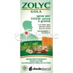 Zolyc Gola Spray Adulti e Bambini per la Tosse Secca e Grassa 30ml