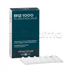 Bios Line Principium B12 1000 contro Stanchezza 60 Compresse Sublinguali