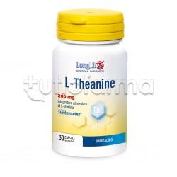 LongLife L-Theanine per Relax e Buon Umore 30 Capsule