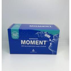 Moment Sospensione Orale Bustine Liquide 200mg 8 Bustine