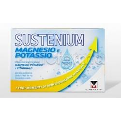 Sustenium Magnesio e Potassio Integratore per Stanchezza Fisica 28 Bustine