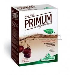 Specchiasol Primum Depurativo Mini Drink 20 Bustine Liquide Gusto Ciliegia