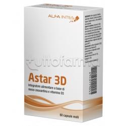 Astar 3D Integratore per la Vista 60 Capsule
