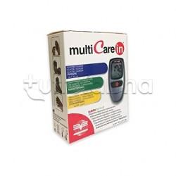 Multicare In Misuratore Completo Per Controllo Glucosio e Colesterolo