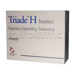 Triade H Integratore per Disturbi Emorroidi 20 Bustine