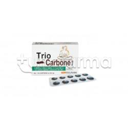 Trio Carbone Plus Integratore per Gonfiore e Esami 40 Compresse