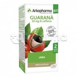Arkocapsule Guaranà Bio Integratore Energetico e per Peso Corporeo 40 Capsule