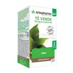Arkocapsule Tè Verde Bio Integratore The Vergine Per Controllo Peso 40 Capsule