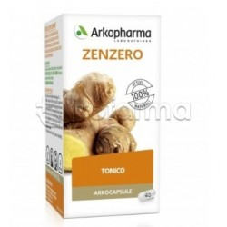 Arkocapsule Zenzero Bio Integratore Digestivo e Energetico 40 Capsule